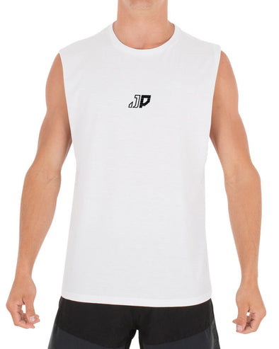JETPILOT CHARIOT MENS MUSCLE WHITE/BLACK