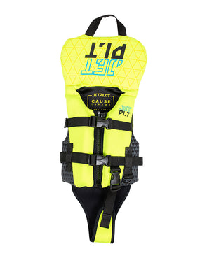 JETPILOT YOUTH CAUSE F/E INFANT NEO VEST YELLOW LEVEL 50