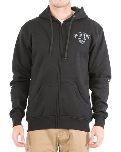JETPILOT ROLLING DEEP MENS FLEECE BLACK