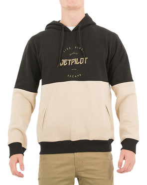 JETPILOT AUTHENTIC MENS FLEECE TAN