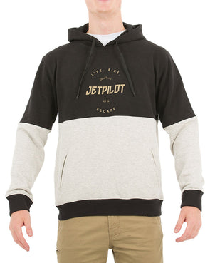 JETPILOT AUTHENTIC MENS FLEECE ICE MARLE