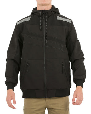 JETPILOT MX ONE MENS JACKET BLACK