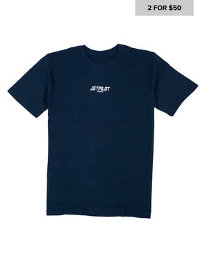 JETPILOT MENS CANNED TEE NAVY