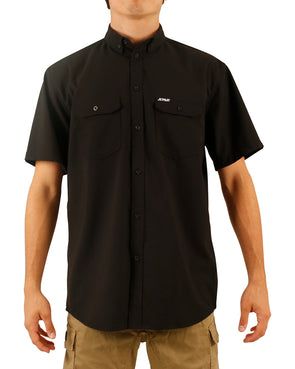 JETPILOT ESSENTIALS S18 MENS SHIRT BLACK