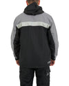 JETPILOT MENS VENTURE RIDE JACKET BLACK/CHARCOAL