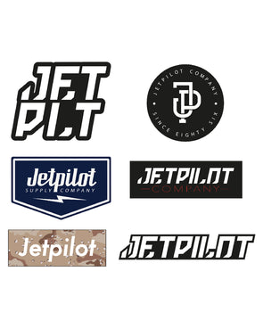 JETPILOT MIXED STICKER PACK ASSORTED