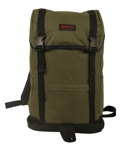 JETPILOT ESCAPE BACKPACK MILITARY