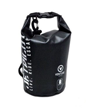 JETPILOT VENTURE 2L DRYSAFE BAG BLACK