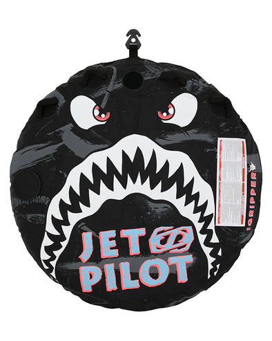 JETPILOT GRIPPER 2 PERSON TOWABLE BLACK
