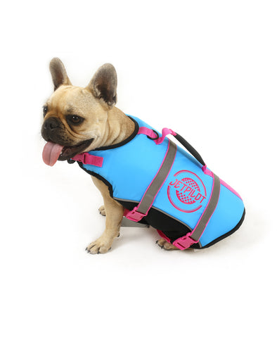 JETPILOT DOG PFD BLUE