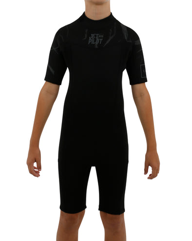 JETPILOT YOUTH THE CAUSE 2MM YOUTH SPRINGSUIT BLACK