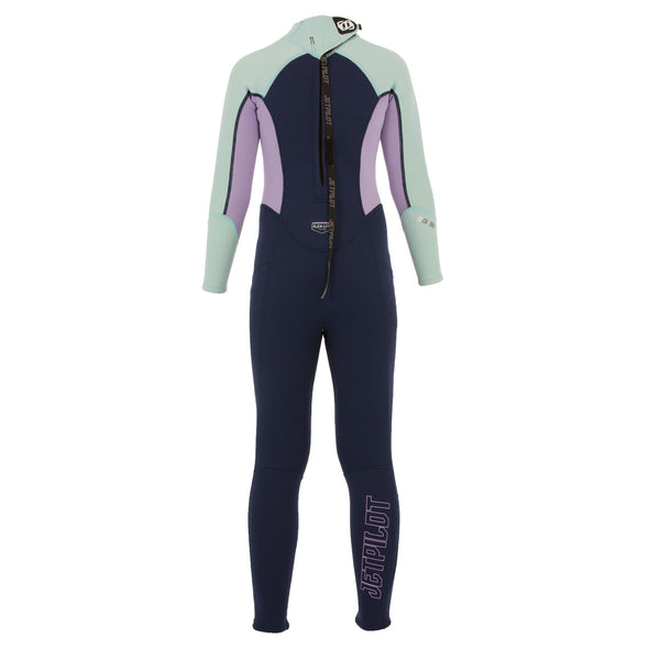 JETPILOT YOUTH THE CAUSE YOUTH 3/2MM FULLSUIT NAVY/BLUE/PINK