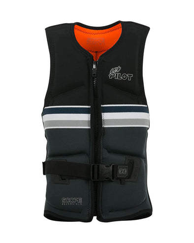 JETPILOT LADIES SCOPE REVERS SEG F/E NEO VEST BLACK/ORANGE LEVEL 50