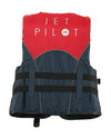 JETPILOT LADIES STRIKE NYLON LADIES VEST RED LEVEL 50