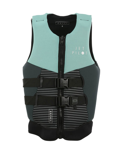 JETPILOT CAUSE LADIES F/E L50S NEO VEST TEAL