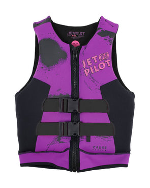 JETPILOT YOUTH THE CAUSE F/E KIDS NEO VEST PURPLE