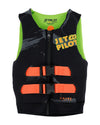 JETPILOT YOUTH THE CAUSE F/E KIDS NEO VEST BLACK