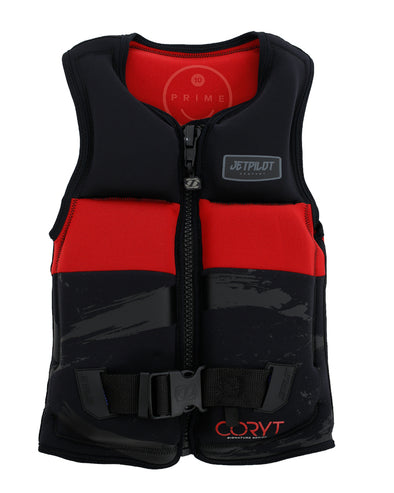 JETPILOT PRIME SEG F/E YOUTH NEO VEST BLACK/RED