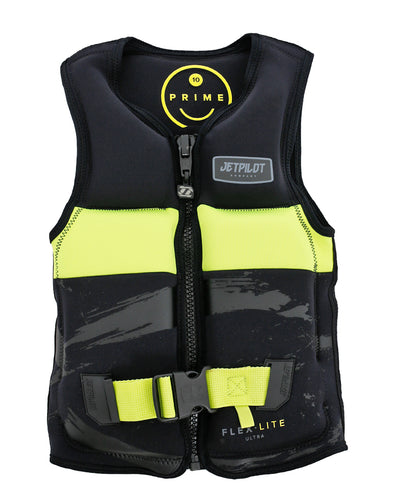 JETPILOT PRIME SEG F/E YOUTH NEO VEST BLACK/YELLOW