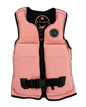 JETPILOT YOUTH PRIME SEG F/E YOUTH GIRLS NEO VEST PEACH