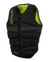 JETPILOT MENS ADDICT REVERS SEG F/E NEO VEST YELLOW LEVEL 50/BLACK