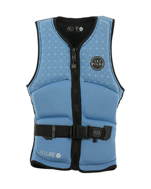 JETPILOT LADIES ALLURE SEG F/E NEO VEST BLUE