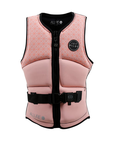 JETPILOT LADIES ALLURE SEG F/E NEO VEST PEACH