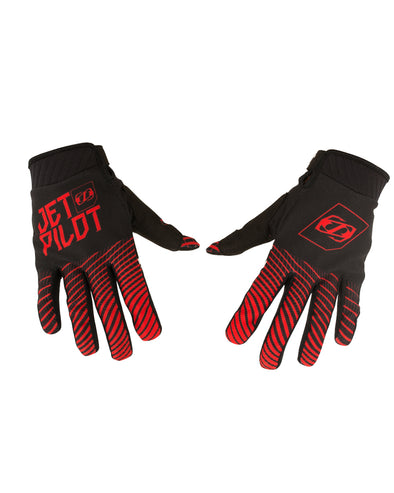 JETPILOT MATRIX PRO SUPER LITE GLOVE BLACK/RED