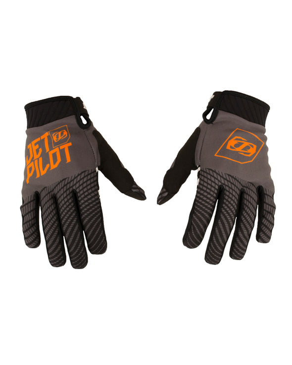 JETPILOT MATRIX PRO SUPER LITE GLOVE BLACK/ORANGE