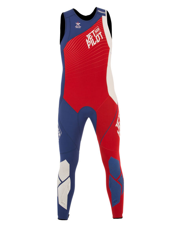 JETPILOT MENS MATRIX PRO RACE JOHN RED/BLUE