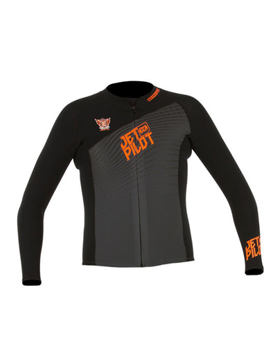 JETPILOT MENS MATRIX PRO JACKET BLACK/ORANGE