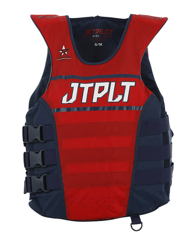 JETPILOT RX UNISEX SE NYLON VEST NAVY/RED LEVEL 50