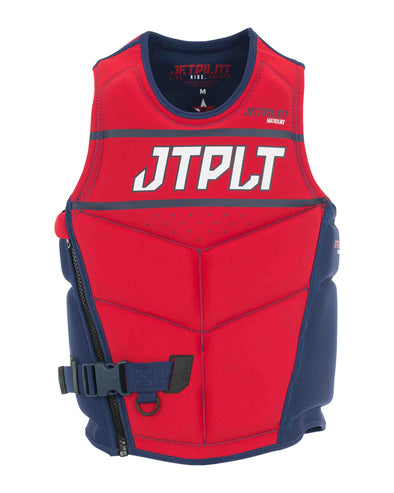 JETPILOT RX MENS S/E NEO VEST NAVY/RED LEVEL 50