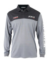 JETPILOT VENTURE MENS LS FISHING SHIRT BLACK/SILVER