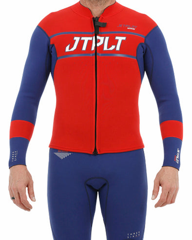 JETPILOT RX MENS RACE JACKET NAVY/RED