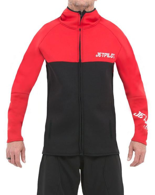 JETPILOT MENS FLIGHT HOODED TOUR COAT RED