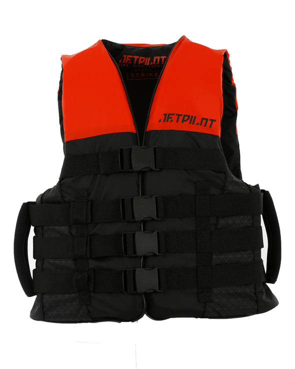 JETPILOT STRIKE MENS FE NYLON VEST RED LEVEL 50