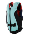 JETPILOT CAUSE REV F/E LADIES NEO VEST TEAL/RED L50
