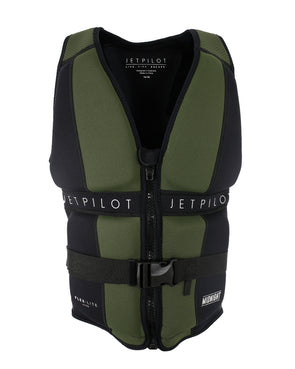 JETPILOT MIDNIGHT LADIES F/E NEO VEST BLACK/GREEN