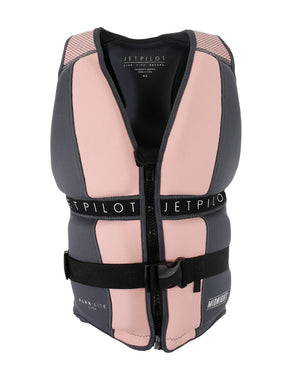 JETPILOT MIDNIGHT LADIES F/E NEO VEST CHAR/PINK