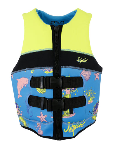 JETPILOT YOUTH CAUSE FE L50 KIDS NEO VEST YELLOW LEVEL 50