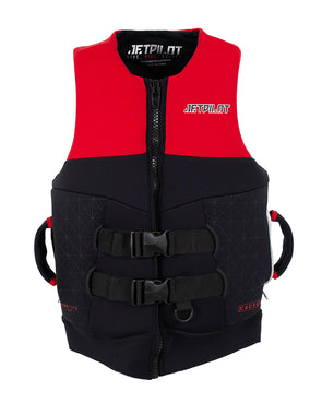 JETPILOT CAUSE MENS S-GRIP FE NEO VEST RED LEVEL 50