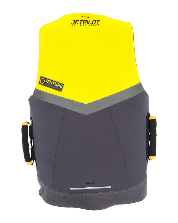 JETPILOT VENTURE MENS FE NEO VEST YELLOW LEVEL 50