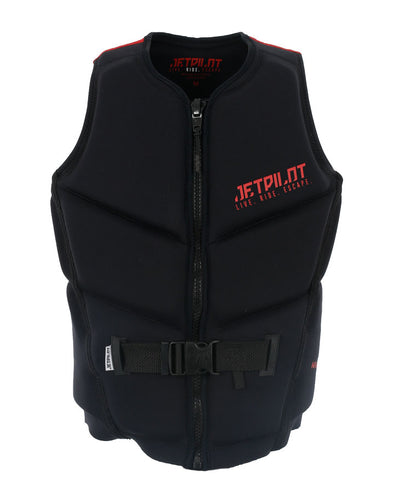 JETPILOT NIGHTHAWK MENS F/E NEO VEST RED