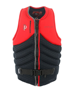 JETPILOT QUANTUM X MENS FE NEO L50 VEST RED LEVEL 50