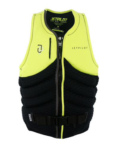 JETPILOT QUANTUM X MENS FE NEO L50 VEST YELLOW LEVEL 50