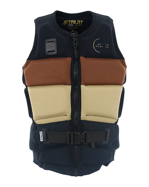 JETPILOT C4 TONY MENS F/E NEO VEST BROWN