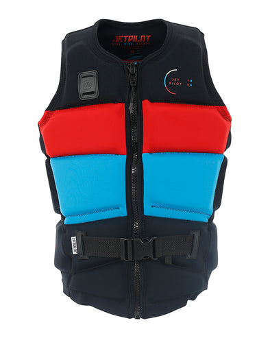 JETPILOT C4 TONY MENS F/E NEO VEST RED