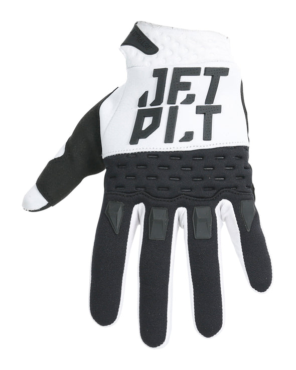 JETPILOT RX RACE GLOVE WHITE/BLACK