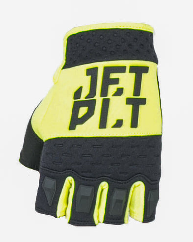 JETPILOT RX SHORT FINGER RACE GLOVE YELLOW/BLACK